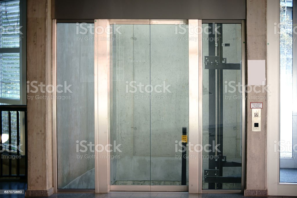 Lift Floor Ground stock photo