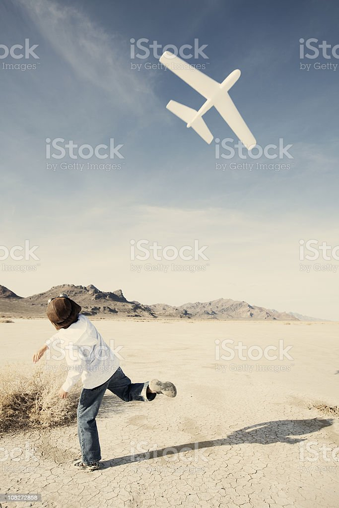 Lift Off! royalty-free stock photo