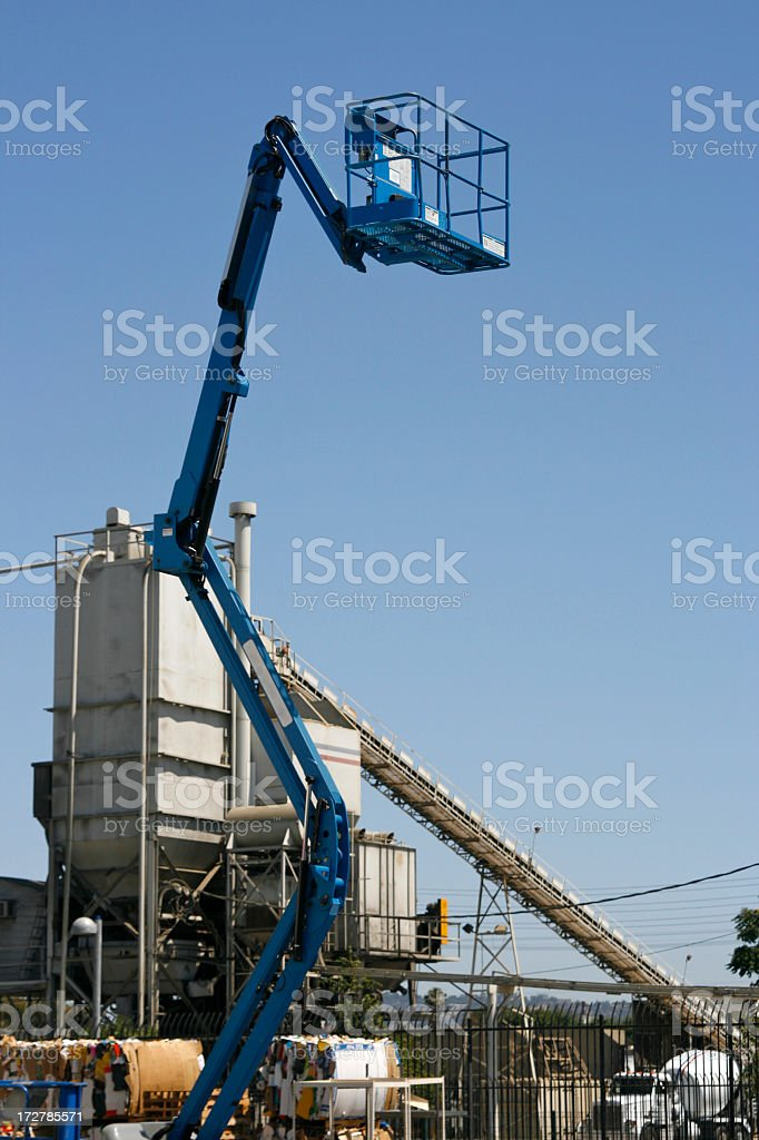 Lifted royalty-free stock photo