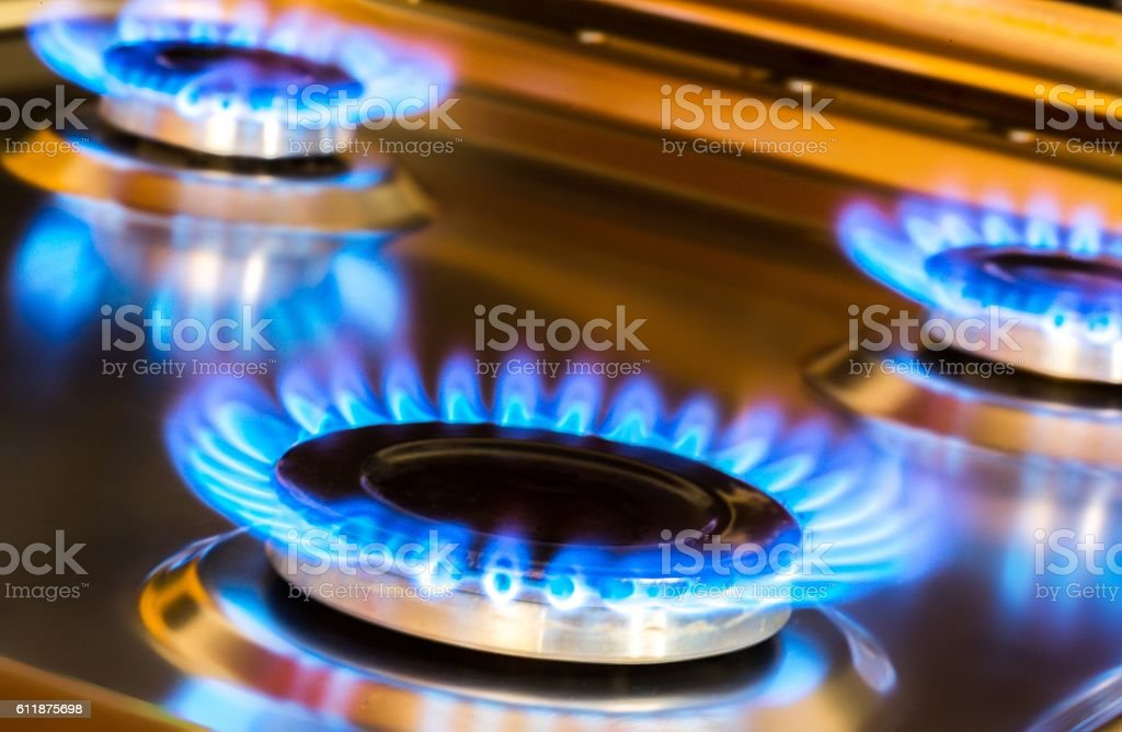 Hob stock photo
