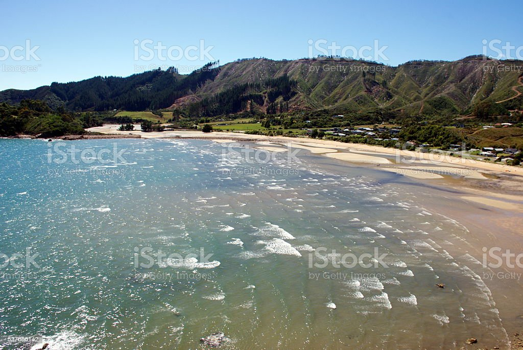 Liger Bay, Tasman Region, New Zealand stock photo