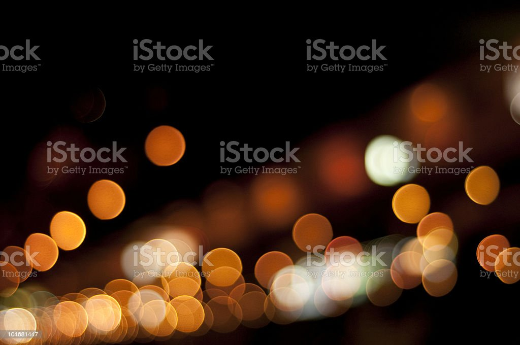 light a large city in the abstract royalty-free stock photo