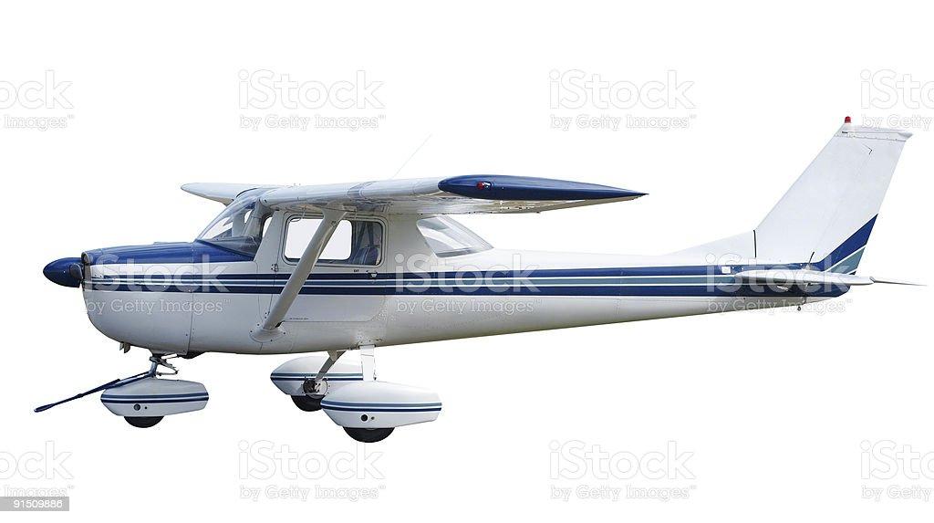 Light Aircraft royalty-free stock photo
