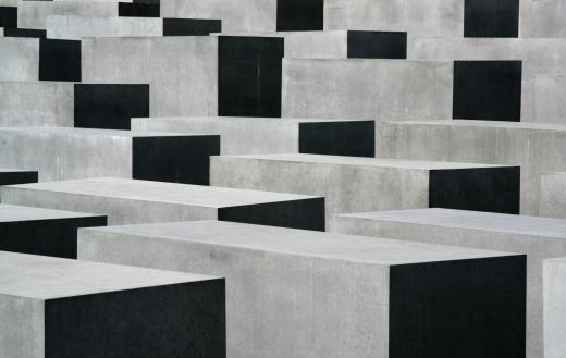 Light & Shadow on Holocaust Memorial in Berlin