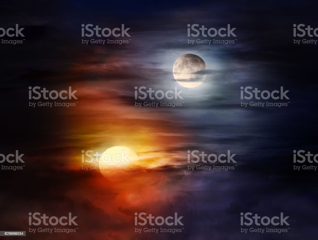 Best Sun And Moon Stock Photos  Pictures  U0026 Royalty