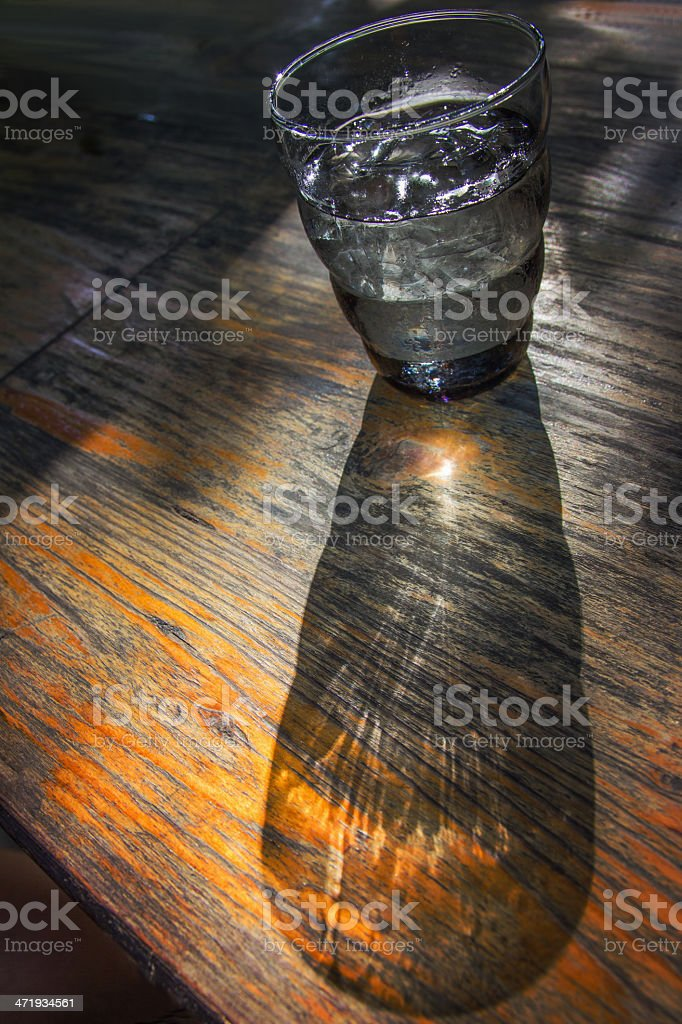 light and shadow royalty-free stock photo