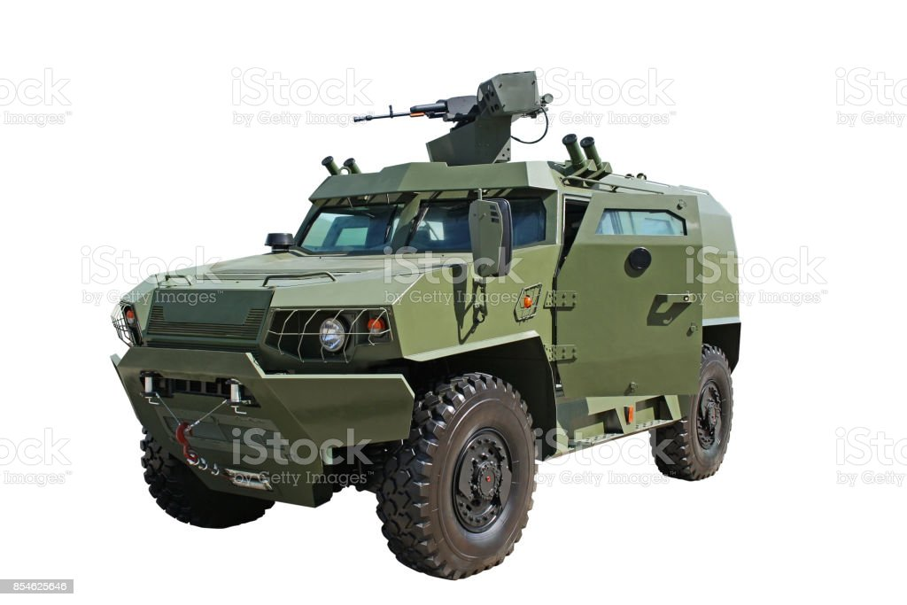 Light armored vehicle stock photo