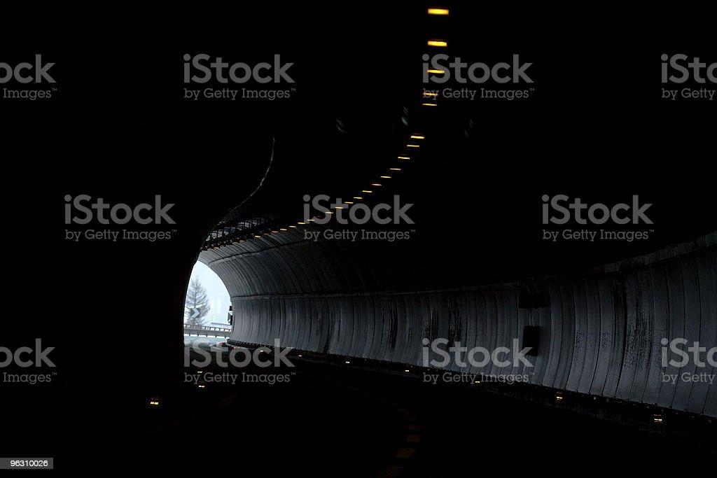 Licht am Ende des Tunnels – Foto