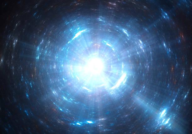 光トンネルの ストックフォト