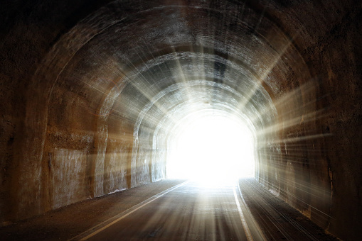 Shining light at the end of the tunnel