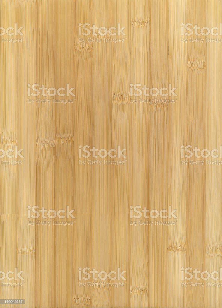 Light bamboo wood background with vertical lines royalty-free stock photo
