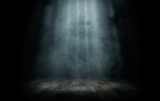 istock Light beam on the stage 468068996