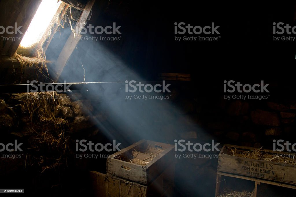 Light beam stock photo