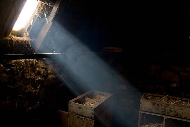 Light beam stock photo