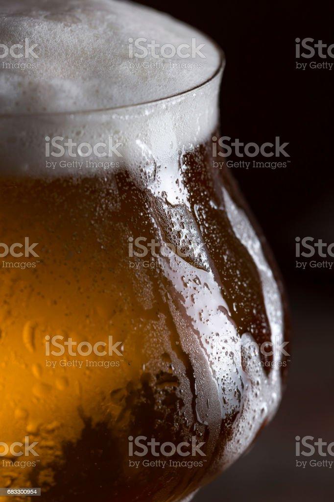 Light beer royalty free stockfoto