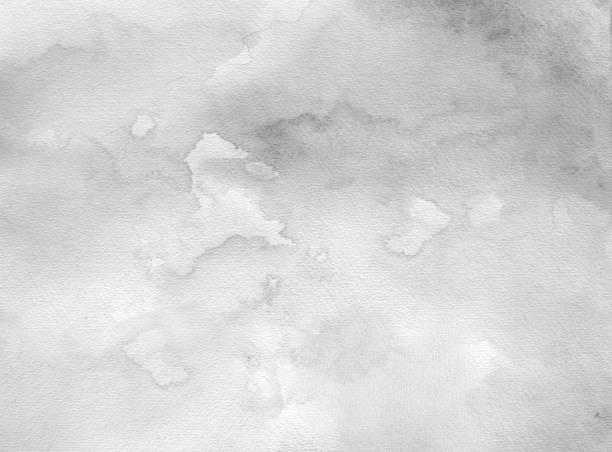 Hellschwarz/graues Aquarell auf Papier – Foto