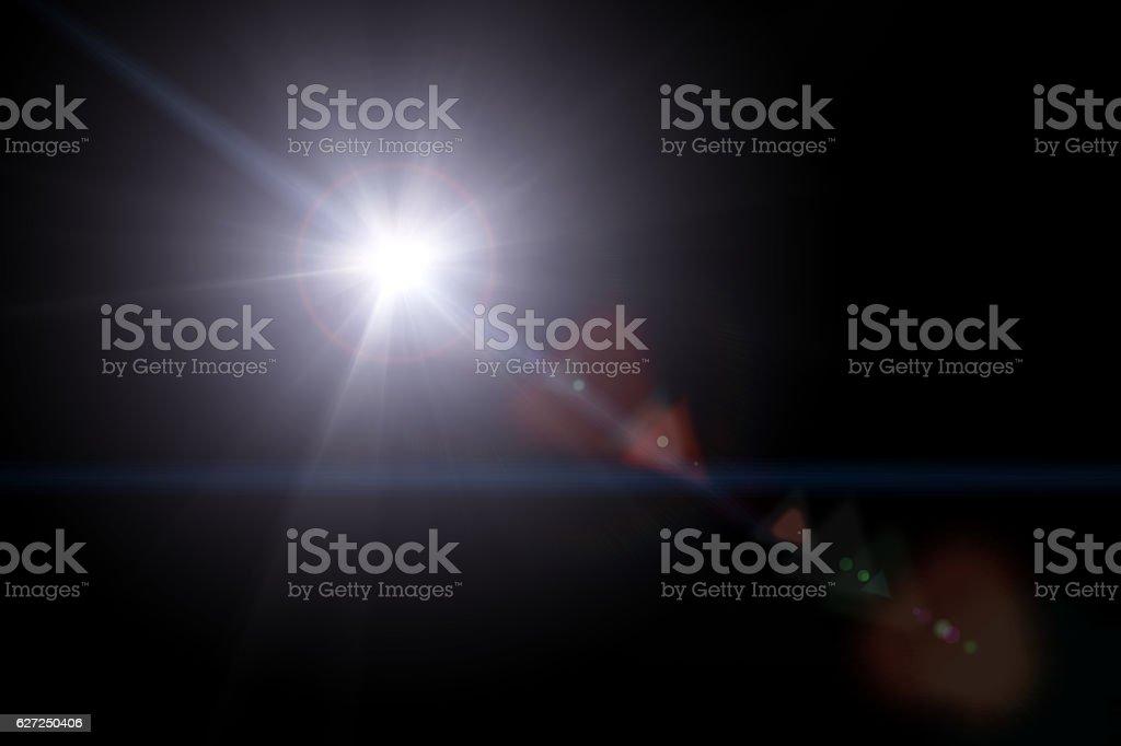 Light Blast stock photo
