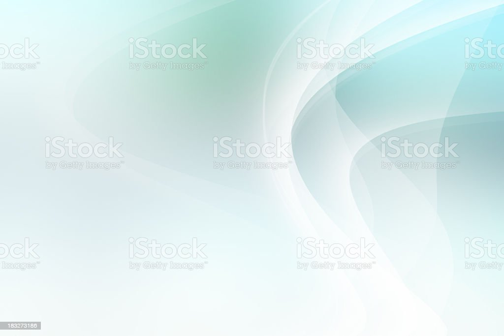Light Blue and Green Abstract Background royalty-free stock photo