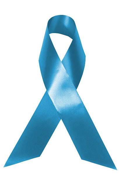 fitinha de conscientização da luz azul - cancer da tireoide - fotografias e filmes do acervo