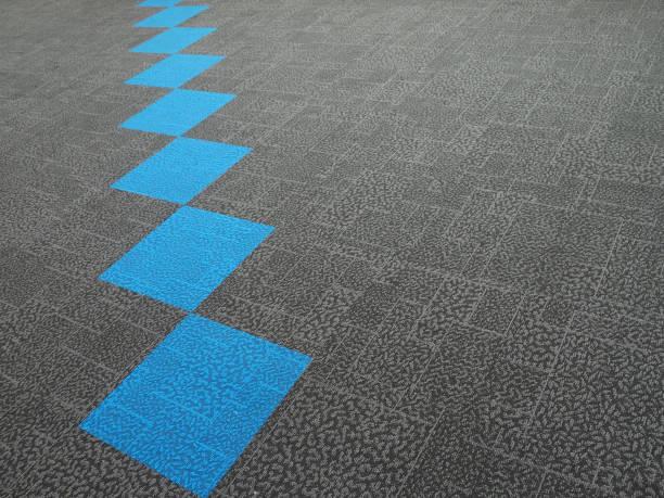 light blue carpet stock photo