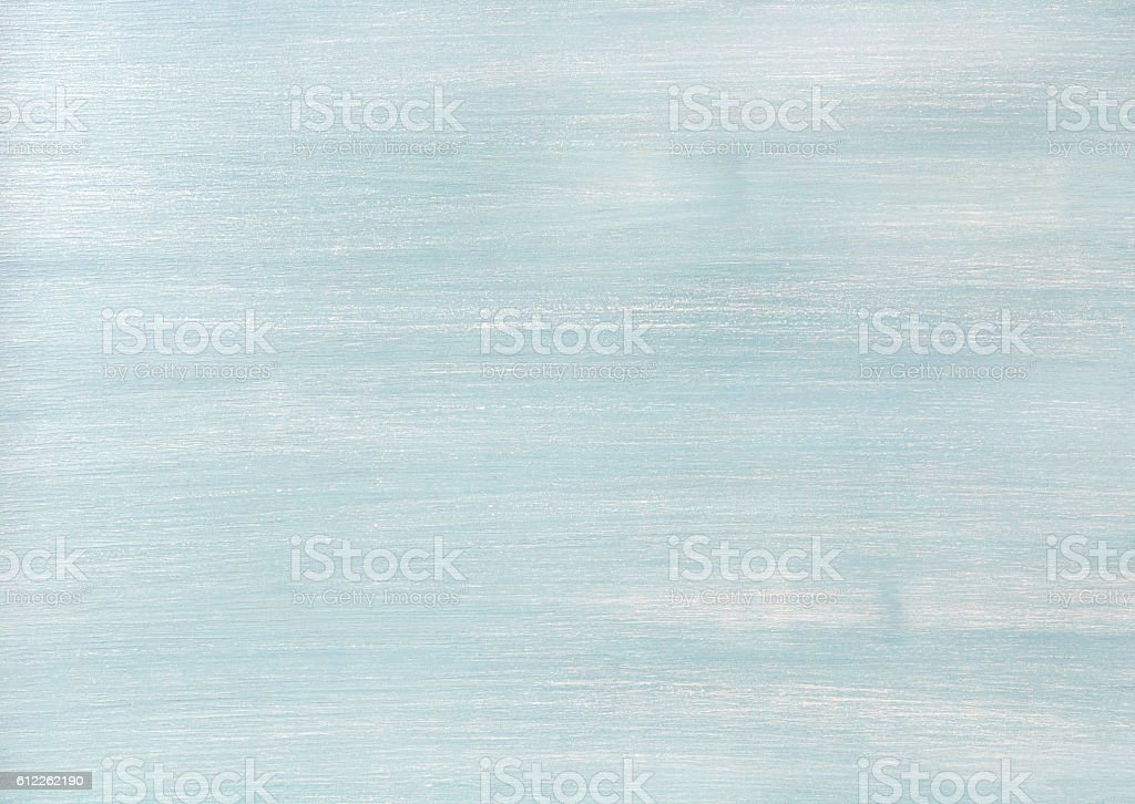 Light blue faded painted wooden texture, background and wallpaper stock photo