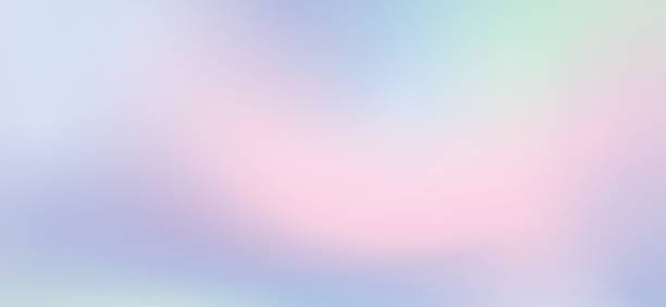 Light blue gradient, in soft colorful smooth, blurred background. Light effect background, abstract light background, light leak stock photo