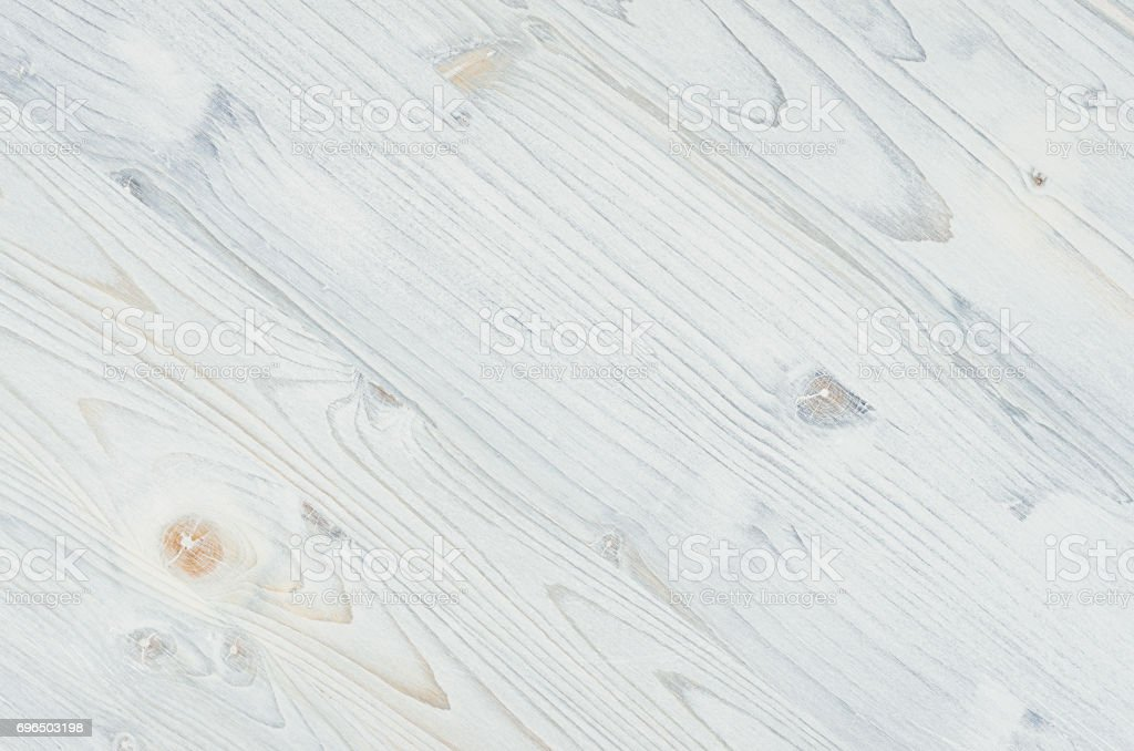 Light blue jean vintage wood texture. Top view, wooden board. stock photo