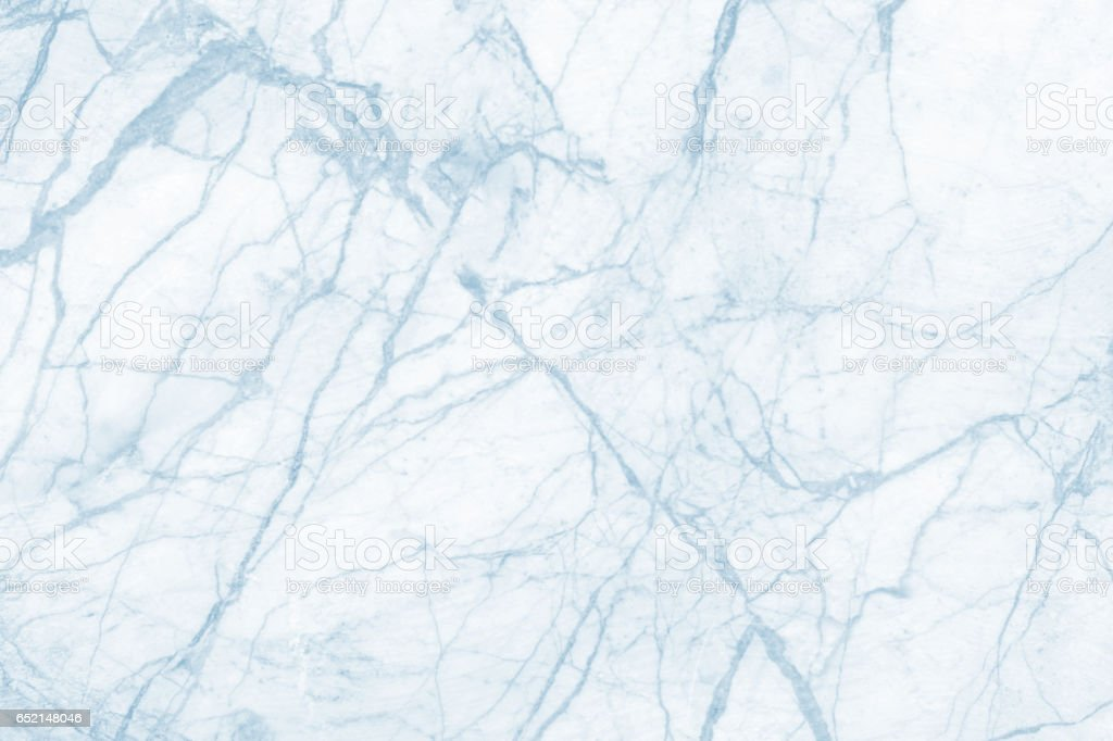 Light blue marble texture background - Stock image .