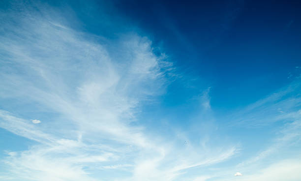 light blue sky and cloud - clear sky stock pictures, royalty-free photos & images