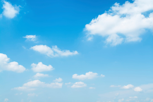 Light Blue Sky Stock Photo - Download Image Now - iStock