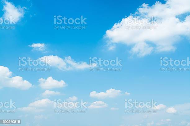 Light Blue Sky Stock Photo - Download Image Now