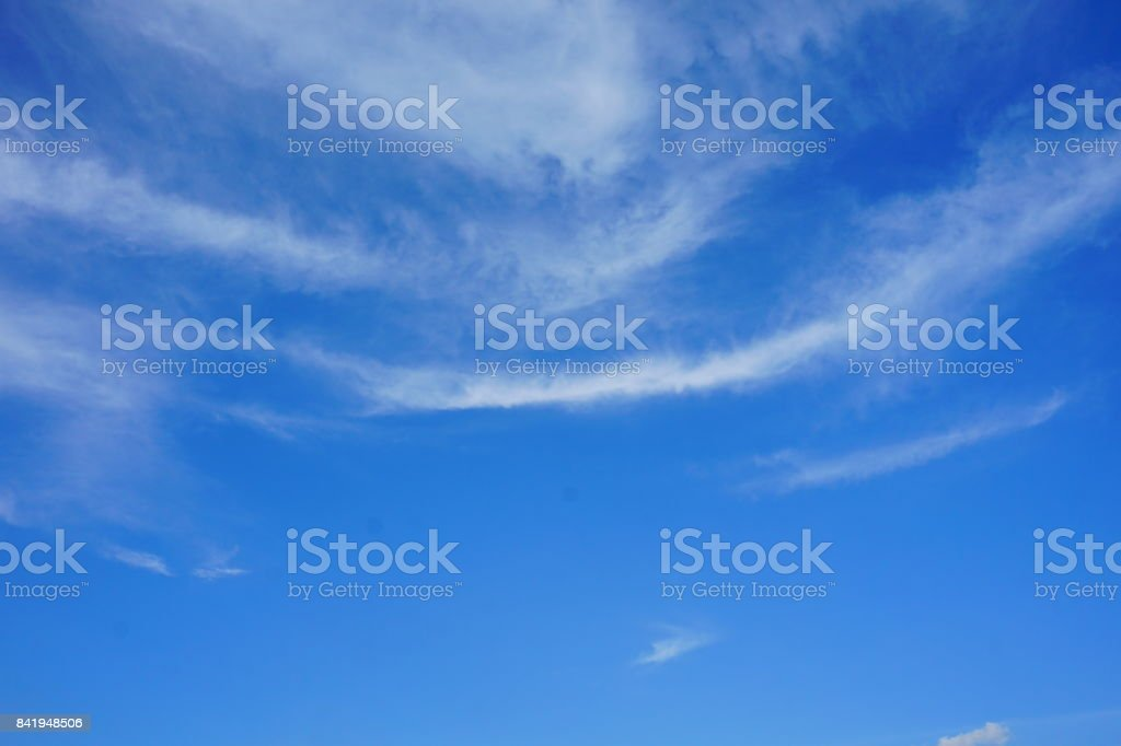 Light Blue Sky stock photo