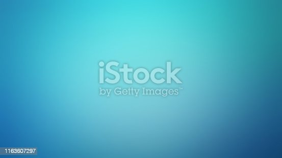 Light Blue Soft Gradient Defocused Blurred Motion Abstract Background, Widescreen, Horizontal