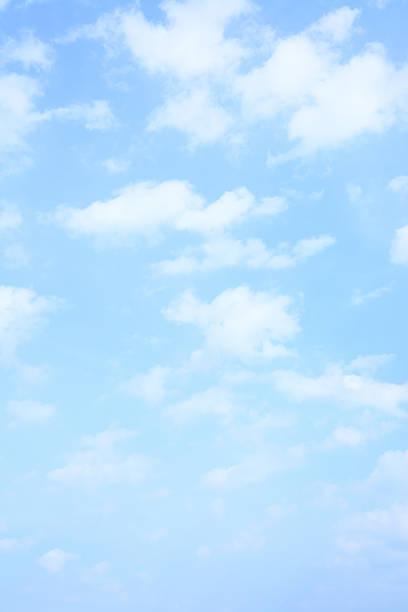 luce blu cielo di primavera - composizione verticale foto e immagini stock