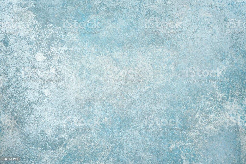 Luz azul piedra pared o piso - foto de stock