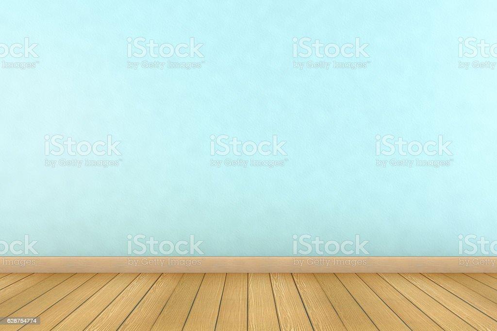 Fotografa de light blue wall and wooden floor empty 3d interior y light blue wall and wooden floor empty 3d interior foto de stock libre de derechos aloadofball Image collections