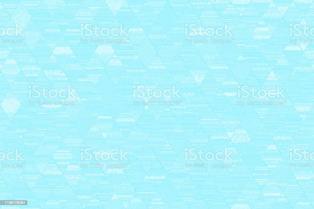 Light Blue White Grunge Diamond Triangle Pattern Seamless