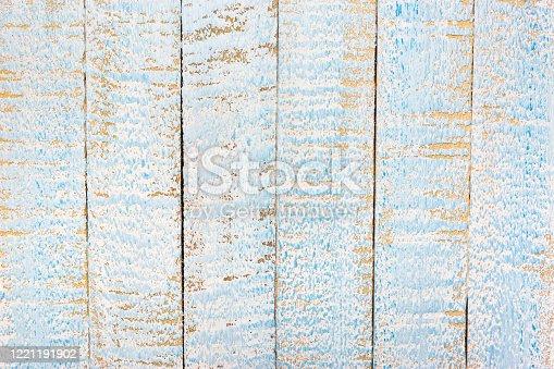 643874908 istock photo Light blue wooden background 1221191902