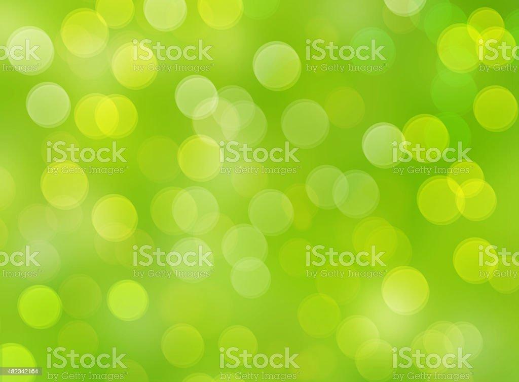 Helle verwischt Bokeh Natur Hintergrund Grün – Foto