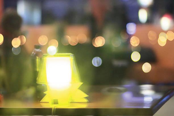 Luz de Bokeh (desfoque de fundo) - foto de acervo