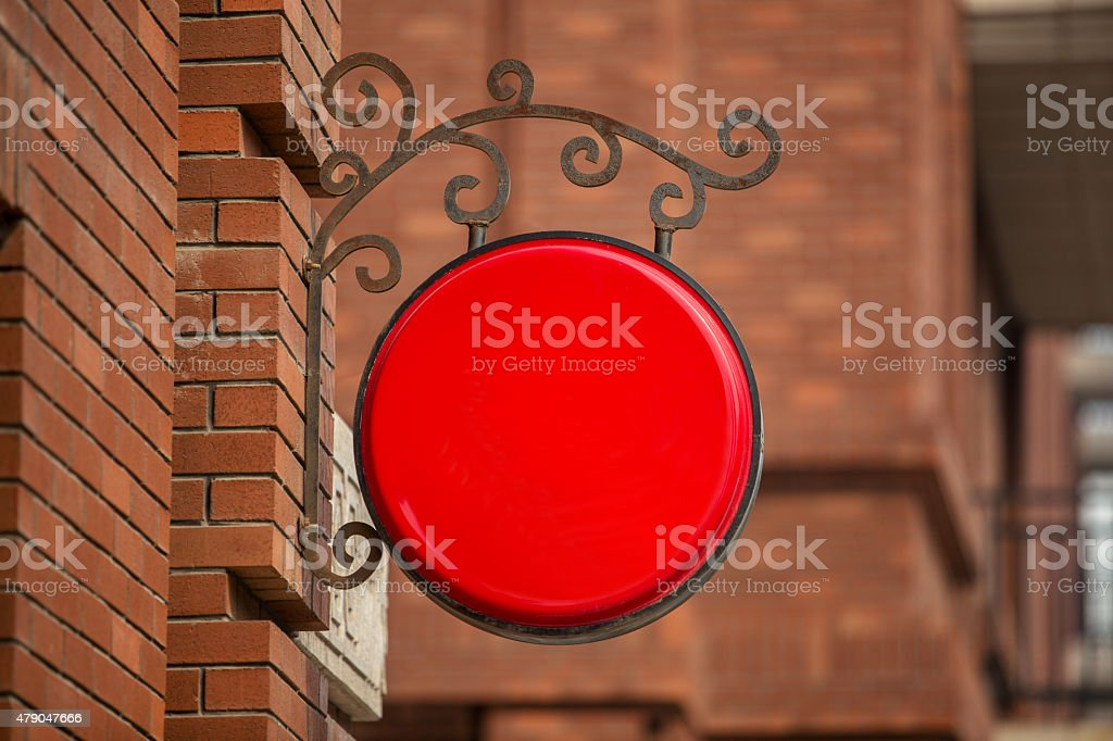 light box on the wall stock photo