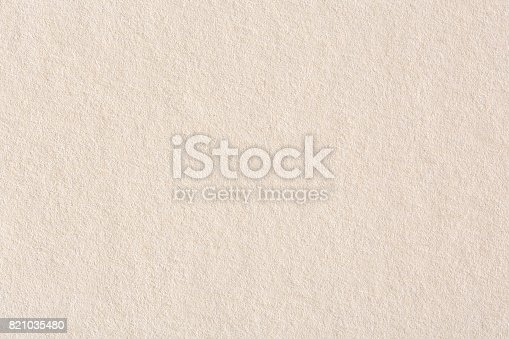 istock Light brown background paper, texture 821035480