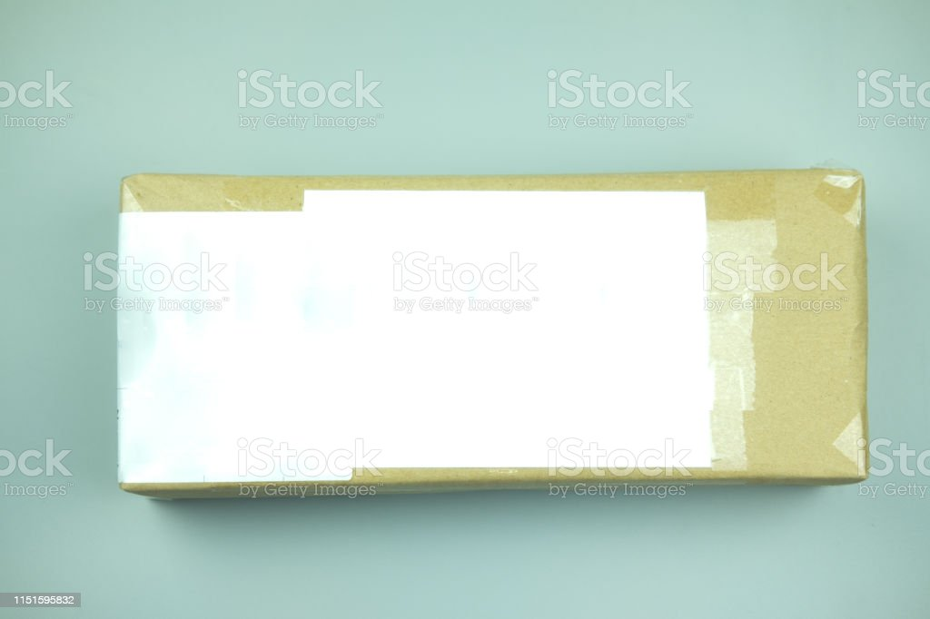 Light Brown Cardboard Boxes With Detail Costume For Sent To