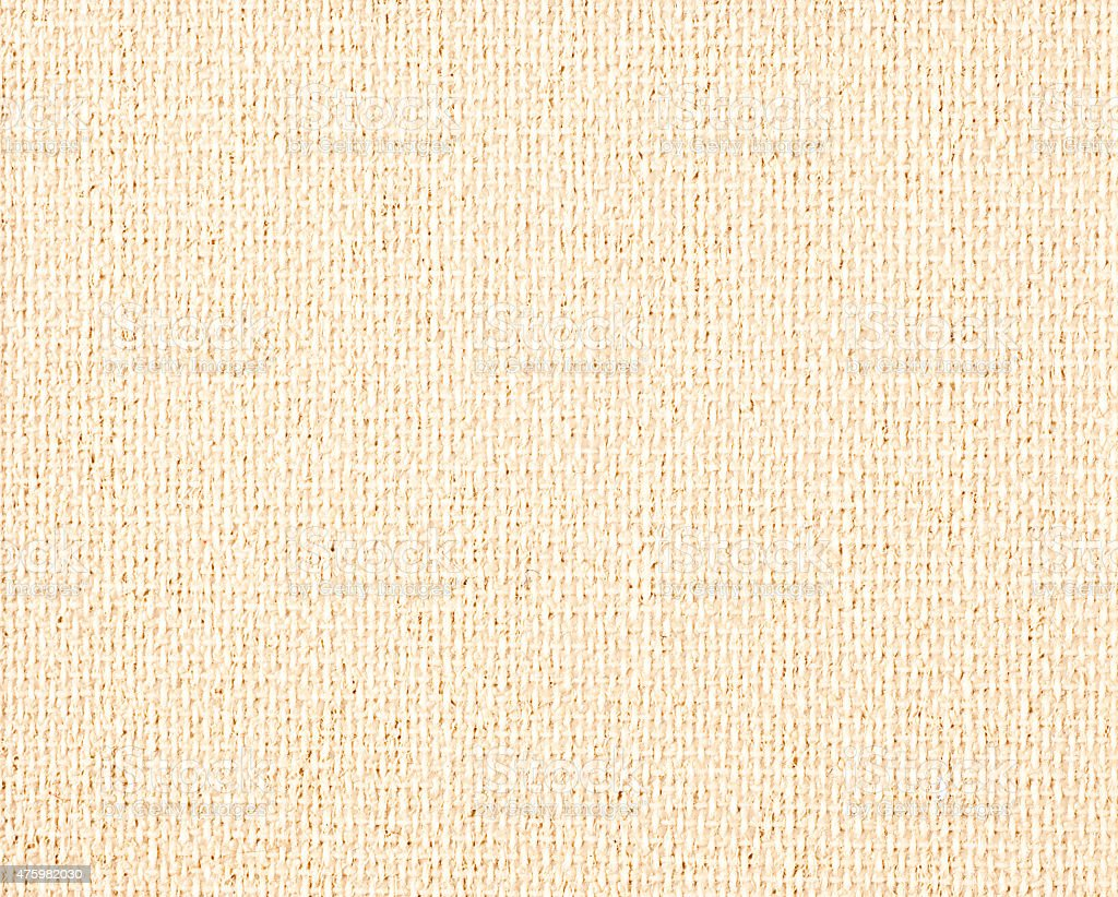 Light Brown Fabric Texture For Background Stock Photo