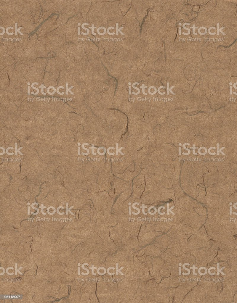 Light Brown Fiber Paper royalty-free stock photo