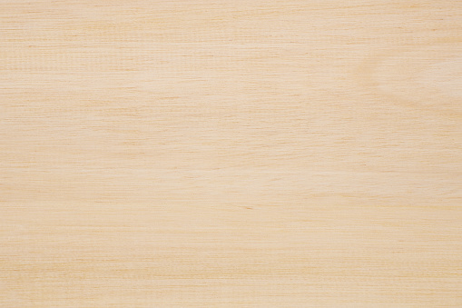 Plain Light Brown Wood as Texture and Background