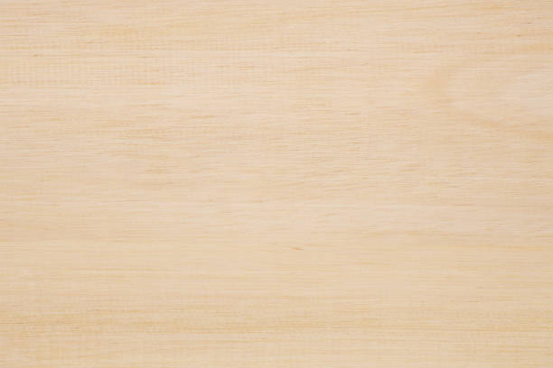 Light Brown Wood Texture Background - foto stock