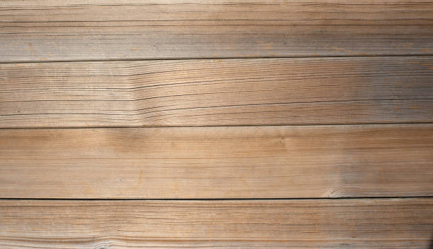Light brown wooden planks, wall, table, ceiling or floor surface. Wood texture stock photo