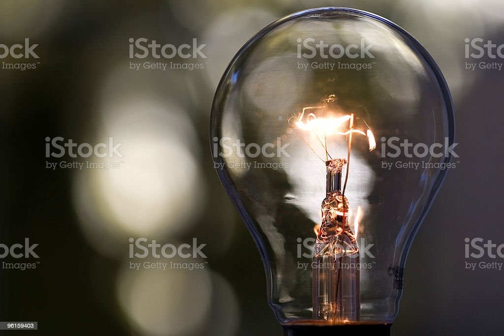 Light Bulb 1 stock photo