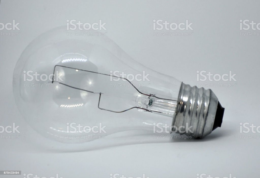 Light Bulb Abstract Isolated stock photo